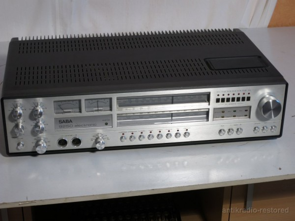 Saba 9250 electronic Stereo Receiver Silber